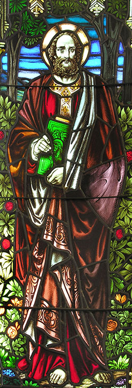 St Mark, Stained Glass
